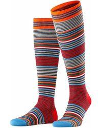 Burlington - Kniestrümpfe »Stripe« (1-Paar) One size fits all (Gr. 40-46) - Lyst