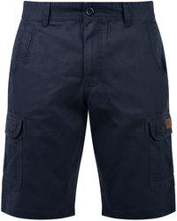 Blend Cargoshorts »Crixus« kurze Hose mit Seitentaschen - Blau