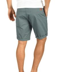 Blend Chinoshorts »Ragna« (mit abnehmbarem Gürtel) kurze Hose mit Gürtel - Grün