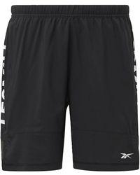 Reebok Shorts »LES MILLS® Shorts« - Mehrfarbig