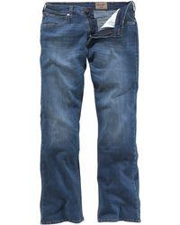 Wrangler Bootcut-Jeans - Blau