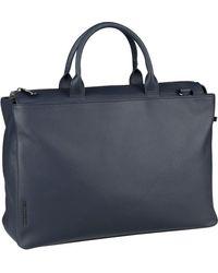 Mandarina Duck Aktentasche »Mellow Leather Aktentasche« - Blau