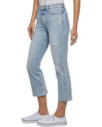 Tommy Hilfiger 3/4-Jeans »CROP FLARE AUDLC« in neuer trendiger 7/8 Form mit ausgestelltem Bein - Blau