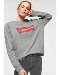 Levi's Nu 20% Korting: ® Sweatshirt Relax Graphic Crew - Grijs
