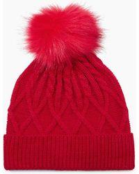 S.oliver Mütze - Rot