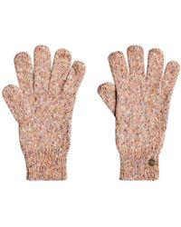 Roxy Gebreide Handschoenen Let It Snow - Meerkleurig