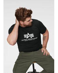 Alpha Industries - T-shirt, Alpha - Lyst