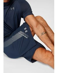 Under Armour Funktionsshorts »WOVEN GRAPHIC SHORT« - Blau