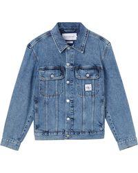 Calvin Klein Jeansjack Regular Denim Jacket - Blauw