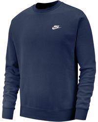 Nike Sweatshirt »M NSW CLUB CREW BB« - Blau