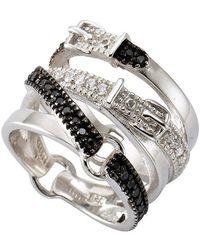 Firetti Fingerring »Sea Glass, SKJ0871040«, mit Glasstein - Mehrfarbig