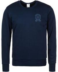 adidas Originals Sweatshirt Manchester United Graphic - Blauw