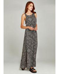 Apricot - Maxikleid » Tile Print Maxi Dress« im Ethno-Look - Lyst