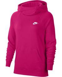 Nike Kapuzensweatshirt - Lila