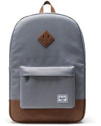 Herschel Supply Co. Laptoprucksack »Heritage, Grey/Tan« - Grau