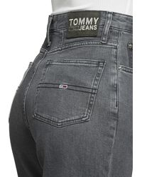 Tommy Hilfiger Tapered-fit-Jeans »HIGH RISE TAPERED TJ 2004 CRMXK« im upcyceled Design jedes Teil ein Unikat - Mehrfarbig