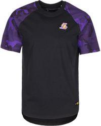 Nike Print-Shirt »Los Angeles Lakers« - Mehrfarbig