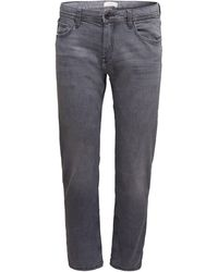 Esprit 5-Pocket-Jeans unifarben - Grau