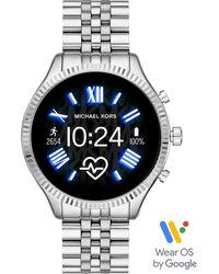 """Michael Kors Touchscreen Smartwatch Lexington """"MKT5077"""" - Mettallic"""