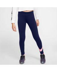 Nike Funktionstights - Lila