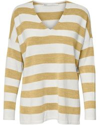 ONLY V-Ausschnitt-Pullover - Gelb