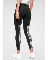adidas Originals legging Must Have 3 Stripes Tights - Zwart