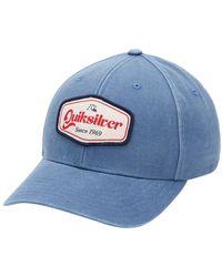 Quiksilver Nu 21% Korting: Snapback Cap Full Hush - Blauw