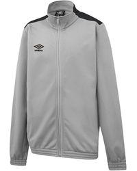 Umbro Sweatjacke »Knitted Jacke« - Grau
