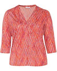 Paprika Print-Shirt - Rot