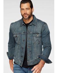 Wrangler Jeansjack Western Denim Jacket - Blauw