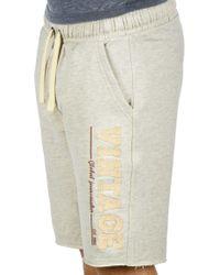 Blend Sweatshorts »Grobmo« kurze Hose mit Frottier-Logo auf dem Bein - Mehrfarbig