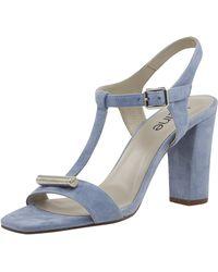 heine Sandalette mit Metall-Applikation - Blau