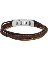 Fossil - Armband »MENS DRESS, JF03390040« - Lyst