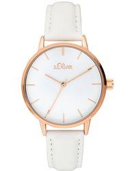 S.oliver Quarzuhr »Armbanduhr« - Mehrfarbig