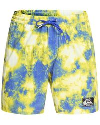 "Quiksilver Boardshort Out There 17"" - Geel"