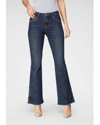 BLUE FIRE - Bootcut-Jeans - Lyst