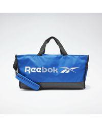 Reebok Sporttasche »Training Essentials Grip Bag Medium« - Blau