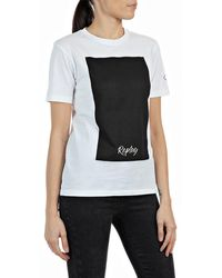 Replay - T-Shirt - Lyst