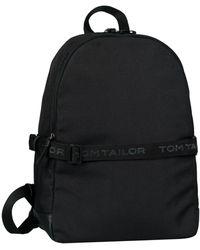 Tom Tailor Cityrucksack »Matteo«, mit gepolstertem Laptopfach - Schwarz