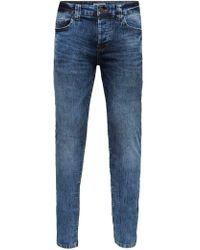 Only & Sons Loom camp Slim Fit Jeans - Blau