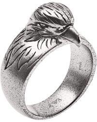Emporio Armani Fingerring »EGS2662040« - Grau