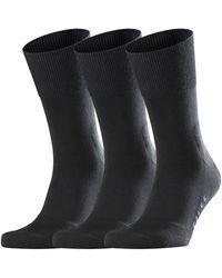 Falke Sokken Tiago 3-pack - Zwart