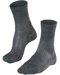 Falke Sokken Stabilizing Wool - Grijs