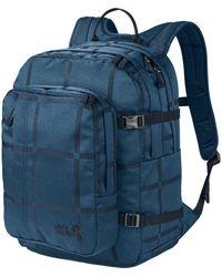 Jack Wolfskin Wanderrucksack »Berkeley Y.D. Backpack« - Blau