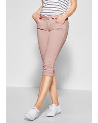 Street One Comfort-fit-Jeans soft - Mehrfarbig