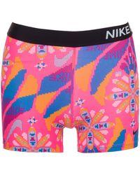 Nike Funktionstights »3in Ftr Femme« - Mehrfarbig