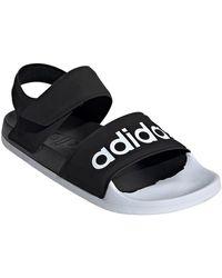 adidas Performance Badslippers Adilette Sandal - Zwart