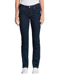 Eddie Bauer 5-Pocket-Jeans Stayshape - Blau