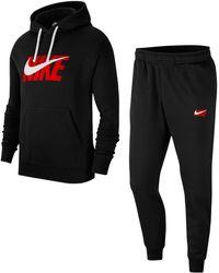 Nike Jogginganzug (Set, 2 tlg) - Schwarz