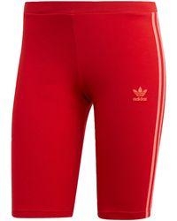 adidas Originals Shorts »Cycling Shorts« adicolor - Rot